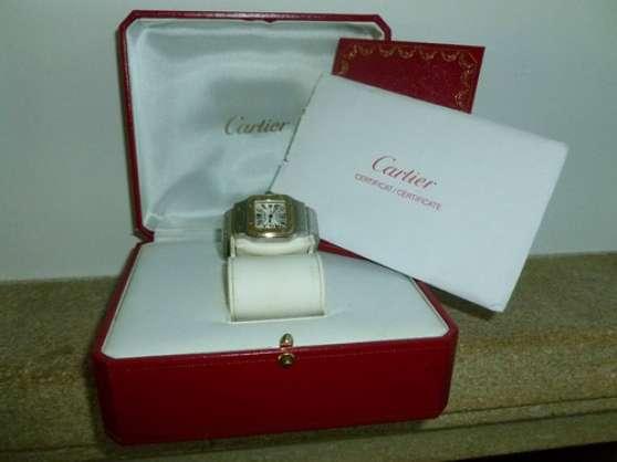 Annonce occasion, vente ou achat 'Montre Cartier SANTOS originale'