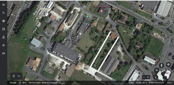 Annonce occasion, vente ou achat 'Terrain 4100m², zone Ux'
