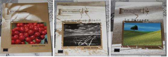 Annonce occasion, vente ou achat '3 livres sur le thème de la photographie'