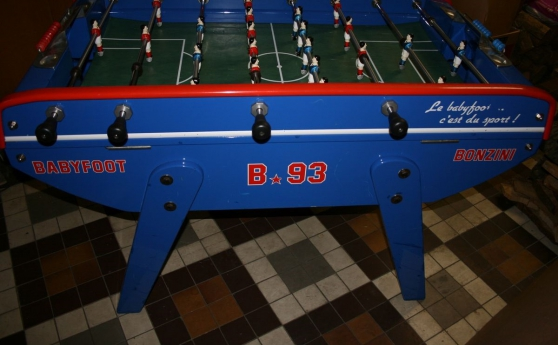 Baby foot Bonzini B60 décor B93