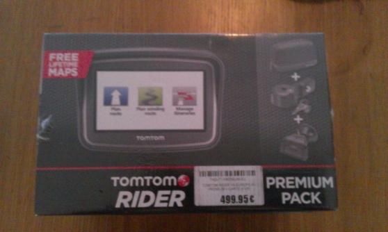 Annonce occasion, vente ou achat 'GPS Tom Tom Rider Premium Pack + Carte à'