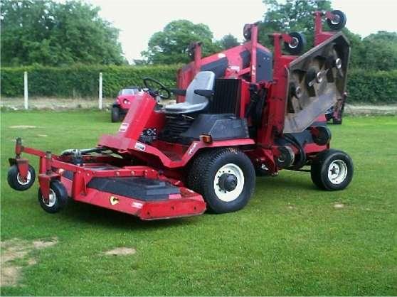 Tracteur tondeuse toro 580 d mat riaux de construction - Tracteur tondeuse coupe frontale d occasion ...