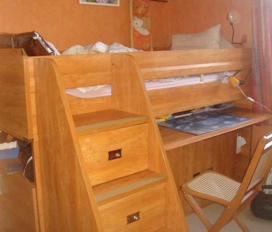 lit gautier calypso chaise matelas bouleurs meubles d coration lits bouleurs. Black Bedroom Furniture Sets. Home Design Ideas