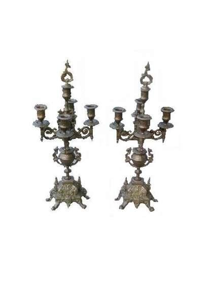 Annonce occasion, vente ou achat 'A Vendre Paire de Chandeliers en Bronzes'
