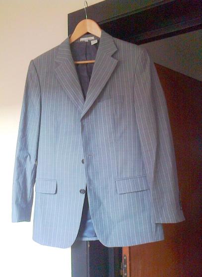 85b345e1d476a Annonce occasion, vente ou achat  Veste Zara Man grise, taille XXL ou 48