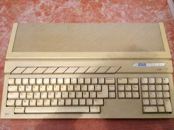 Atari 1040 STF+2 moniteurs+Souris+Joysti