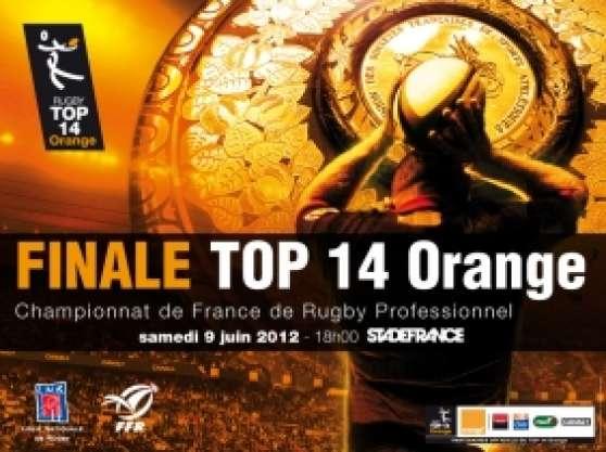 Annonce occasion, vente ou achat 'Places finale TOP 14'