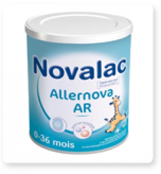2 pots lait NOVALAC ALLERNOVA NEUFS