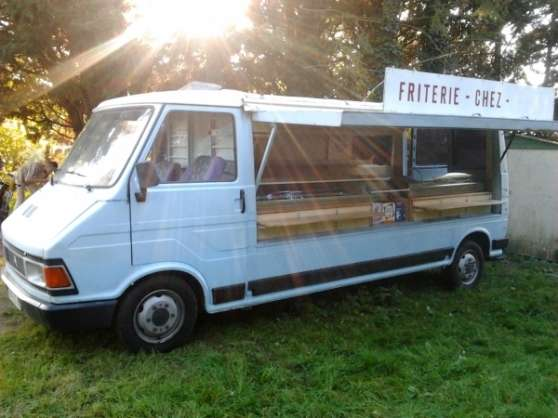 Camion Friterie Ambulante Auto Camions 224 Aurel Reference