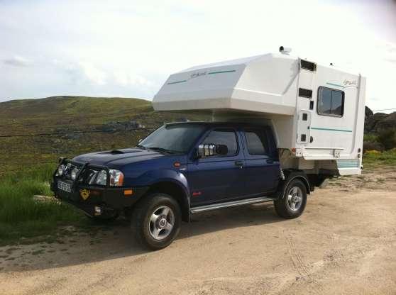 vds pick up nissan cellule caravanes camping car. Black Bedroom Furniture Sets. Home Design Ideas