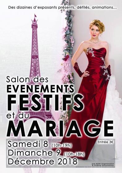 Salon des événements Festifs et Mariages