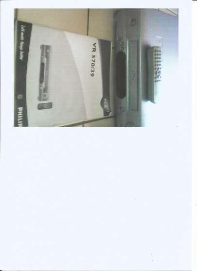 Annonce occasion, vente ou achat 'magnétoscope philips'