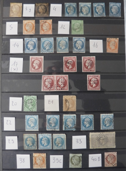 LOT TIMBRES CLASS FRANCE DONT N°33C