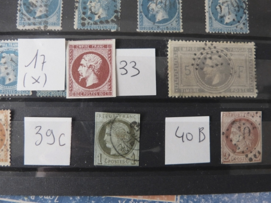 LOT TIMBRES CLASS FRANCE DONT N°33C - Photo 2