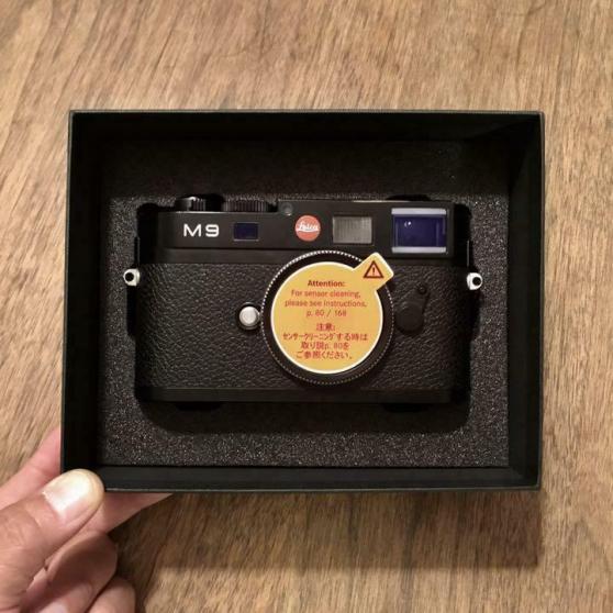Annonce occasion, vente ou achat 'Leica-M9-Camera'
