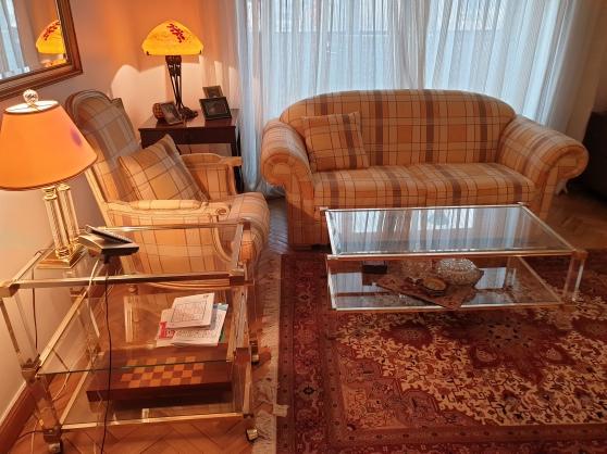 Canapé plus fauteuil