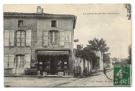 CPA - La Tour-Blanche (24) - Commerce