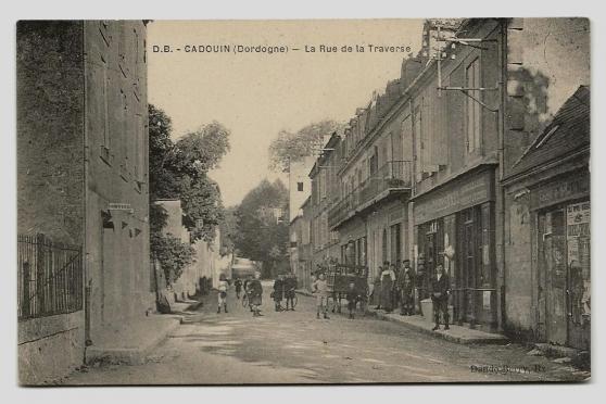Annonce occasion, vente ou achat 'CADOUIN (24) - La Rue de la Traverse'