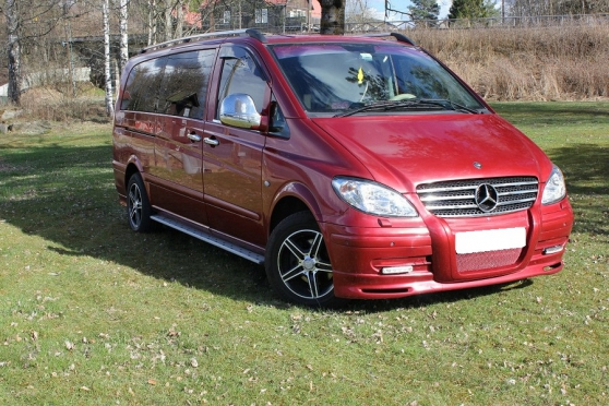 MERCEDES VITO CDI VIP LONG 7P