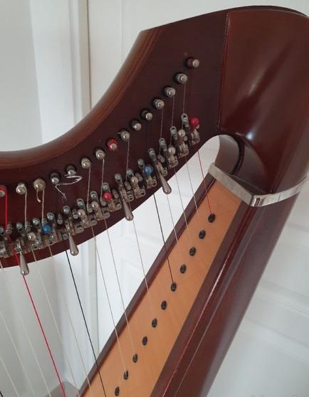 Harpe celtique 38 cordes - Photo 3