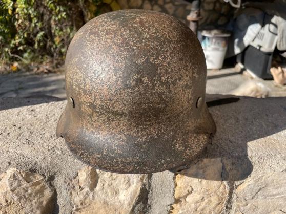 casque allemand camouflè