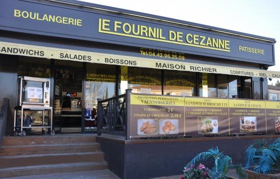 Petite Annonce : Boulanger snackeur - LE FOURNIL DE CEZANNE BOULANGERIE A AIX EN PROVENCE RN7 CELONY