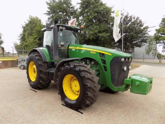 Annonce occasion, vente ou achat 'Tracteur John deere 8530'