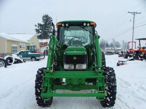 2005 John Deere 6420 Tracteur