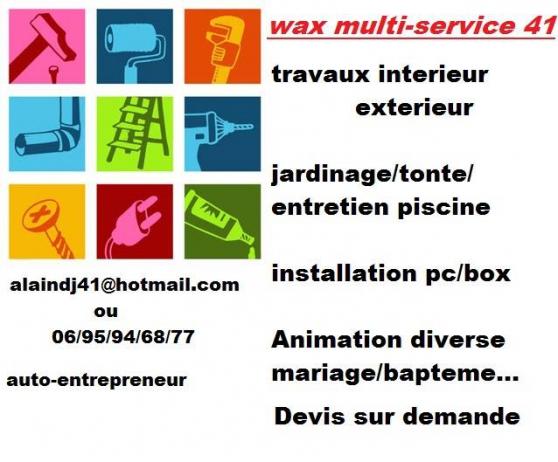 wax multi services