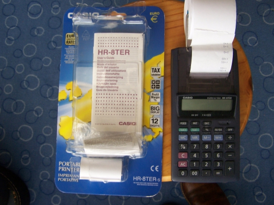 Calculatrice imprimante portative CASIO