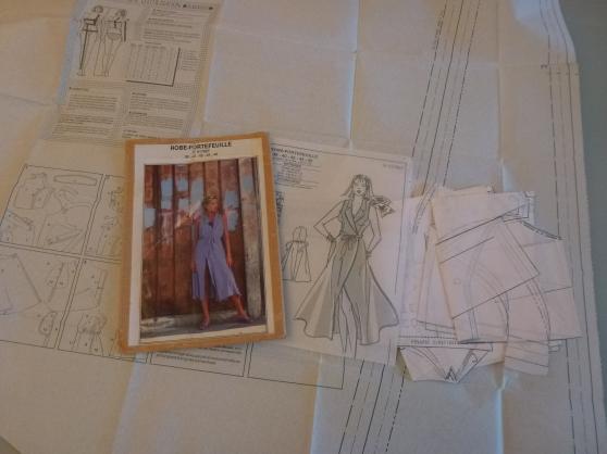 Patron robe-portefeuille - Photo 2