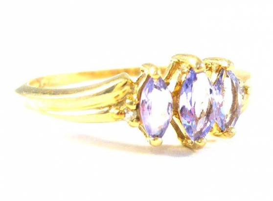 Annonce occasion, vente ou achat 'Gold ring with rare tanzanite'