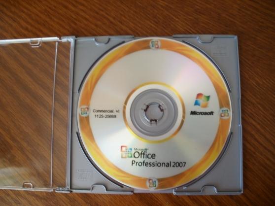 microsoft office pro plus 2007 - 5 pc - Annonce gratuite marche.fr