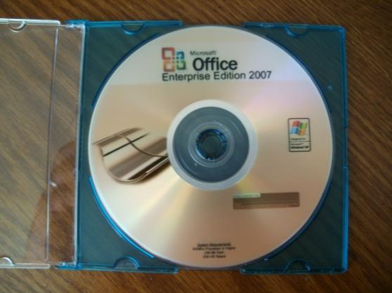 microsoft office enterprise 2007 ( 5pc ) - Annonce gratuite marche.fr