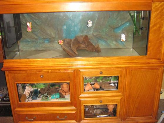 Aquarium meuble 450 L