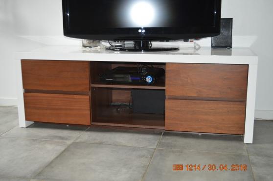 meuble TV + bibliothèque