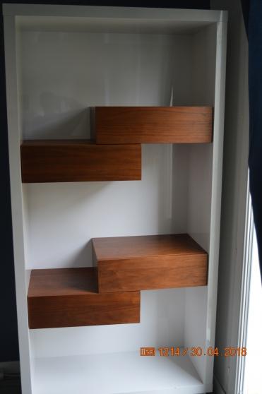 meuble TV + bibliothèque - Photo 2