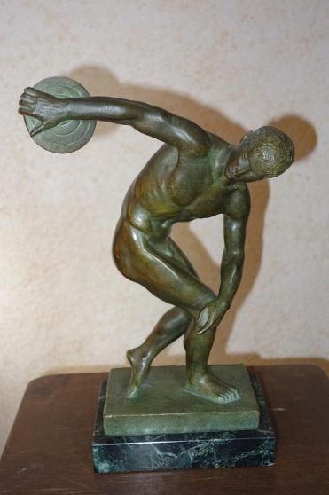 statuettes bronze copies du Louvre(RMN)