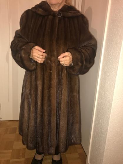 manteau long vison femme taille 44 - Annonce gratuite marche.fr