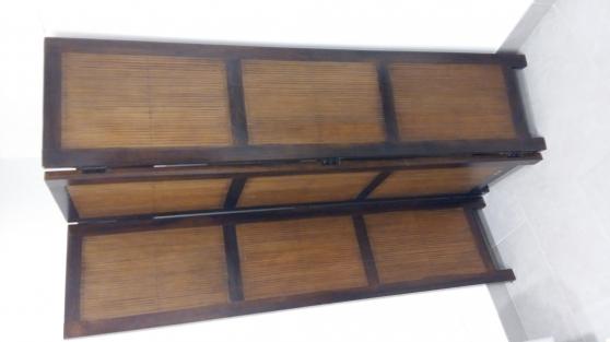 Annonce occasion, vente ou achat 'Paravent en teck et bambou'