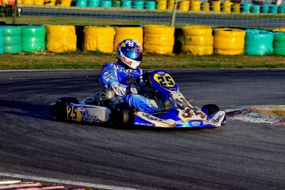 Karting kz Praga dragon Evo 2