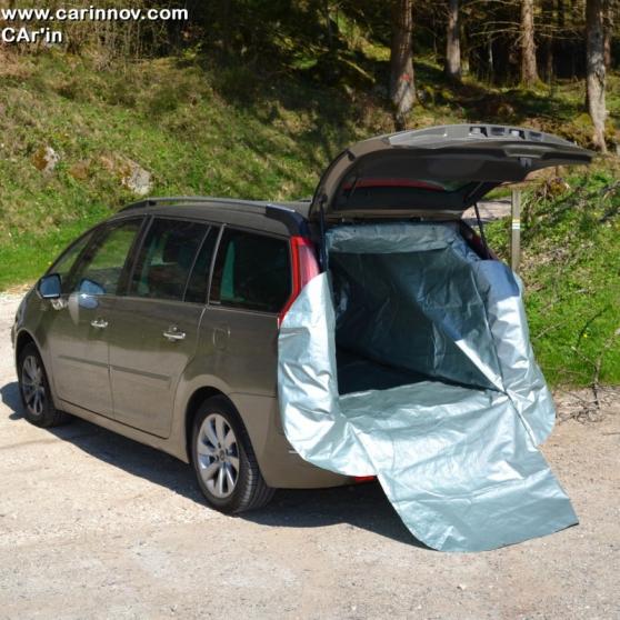Bâche de protection de coffre de voiture