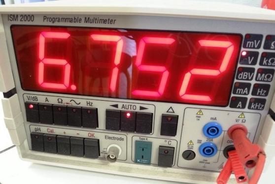 Annonce occasion, vente ou achat 'multimetre de demonstration ism2000'