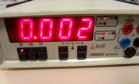 wattmetre isw8000 a gros affichage