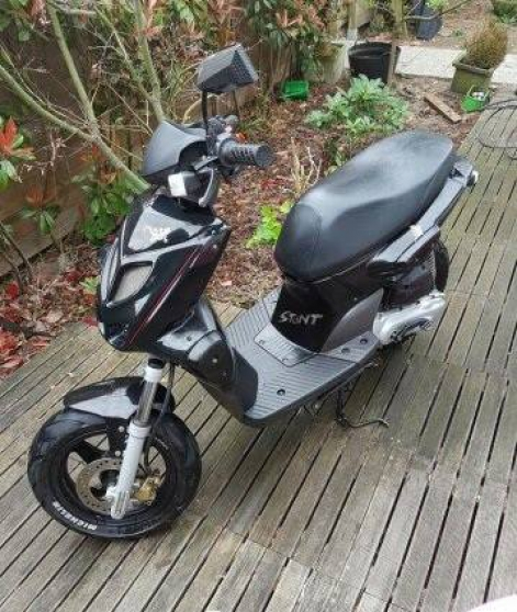 Annonce occasion, vente ou achat 'Scooter mbk stunt'