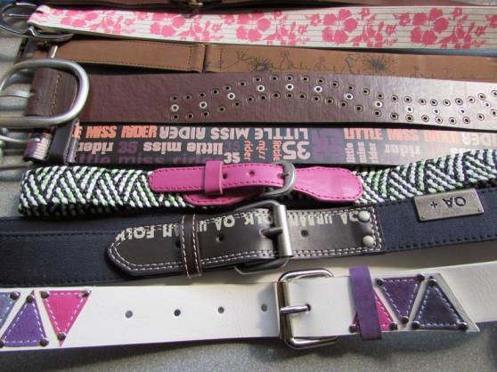 Annonce occasion, vente ou achat 'lot de ceintures enfants'