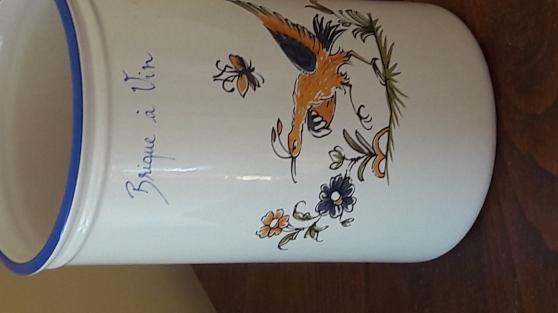 Annonce occasion, vente ou achat 'Moustier brique a vin'