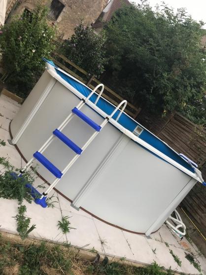 piscine hors sol acier de marque gre à bourges - Annonce gratuite marche.fr