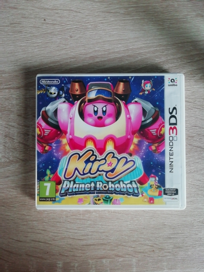 Annonce occasion, vente ou achat 'Jeu Nintendo 3DS Kirby Planet Robobot'