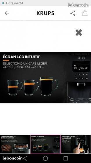 Machine café haut de gamme broyeur neuve